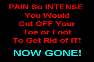 Cure gout in 2 hours and How to stop gout pain